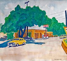 A Quiet Texas Town by Fred Jinkins