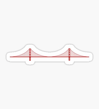 Golden Gate, San Francisco Sticker