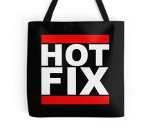 HOT FIX - Parody Design for Programmers Tote Bag