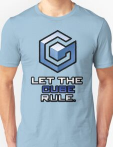 "Gamecube: ""Let The Cube Rule"" Shirt T-Shirt"