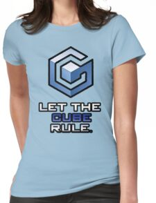 "Gamecube: ""Let The Cube Rule"" Shirt Womens Fitted T-Shirt"