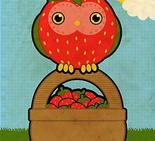 The Strawberry Owl by Luke Barclay