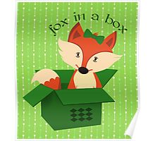 Boxed Fox Poster