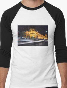 Melbourne Icon Men's Baseball ¾ T-Shirt