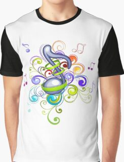 Music in the air Graphic T-Shirt