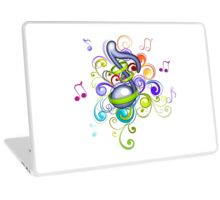 Music in the air Laptop Skin