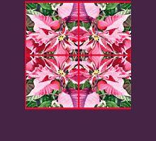 Pink Poinsettia Decor Unisex T-Shirt