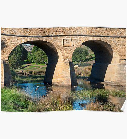 Richmond Bridge, Tasmania Poster