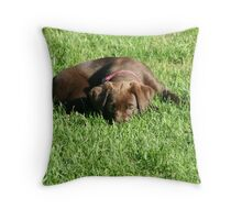 You can't see me. Throw Pillow