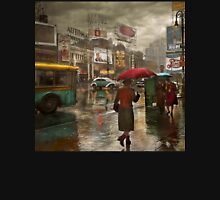 City - NY - Times Square on a rainy day 1943 T-Shirt