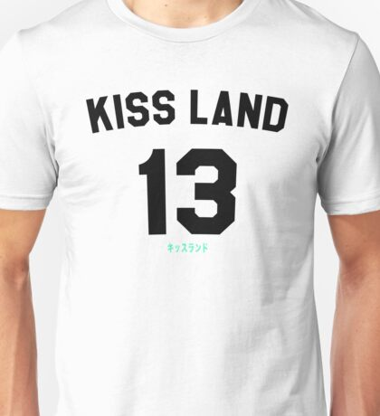 Kiss Land BLACK Unisex T-Shirt