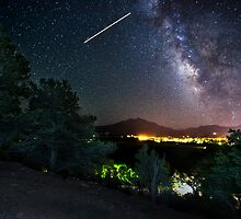 Milky Way Over Sopris by Toby Harriman