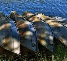 5 row boats in a row by vigor