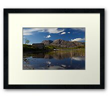 Arkle Boathouse Framed Print