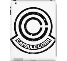 Capsule Corp. White iPad Case/Skin