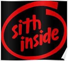 Sith Inside Poster