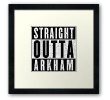 Arkham Represent! Framed Print