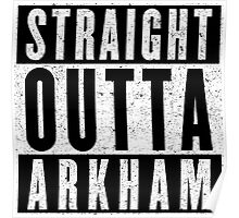 Arkham Represent! Poster
