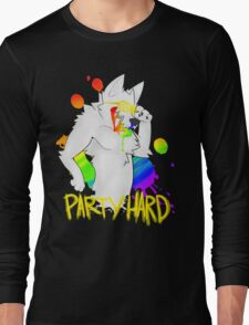PARTY HARD BARFIE Long Sleeve T-Shirt