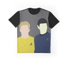 Spock and Kirk Graphic T-Shirt