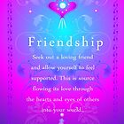 Feel Good Frequency Cards....'FRIENDSHIP' by jewd barclay