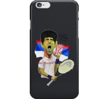 Djokovic number 1 iPhone Case/Skin