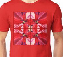 Red Poinsettia Decor Unisex T-Shirt