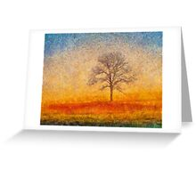 The Dreamer's Tree Greeting Card