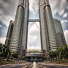 Petronas Towers, Kuala Lumpur by Dean Mullin