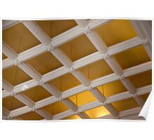 Ceiling Grid Poster