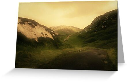 These mystic hills by Agnes McGuinness