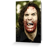 Possessed Greeting Card