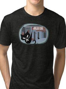 Trek.fm: Ninja Cat Tri-blend T-Shirt