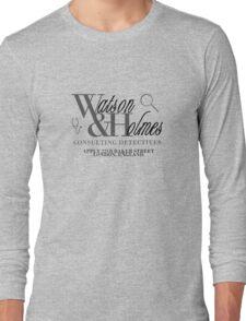 A Detective & A Doc Long Sleeve T-Shirt