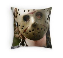 Zombie Trader Throw Pillow