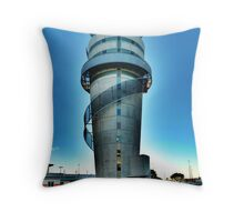 Christchurch Airport's Control Tower Throw Pillow