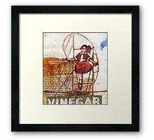 Melbourne Skipping Girl Framed Print