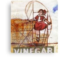 Melbourne Skipping Girl Canvas Print