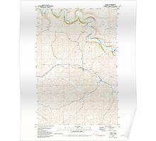 USGS Topo Map Washington State WA Thera 244259 1981 24000 Poster