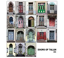 Doors Of Tallinn Photographic Print