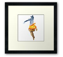 Korra and the Elements Framed Print