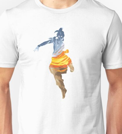 Korra and the Elements Unisex T-Shirt