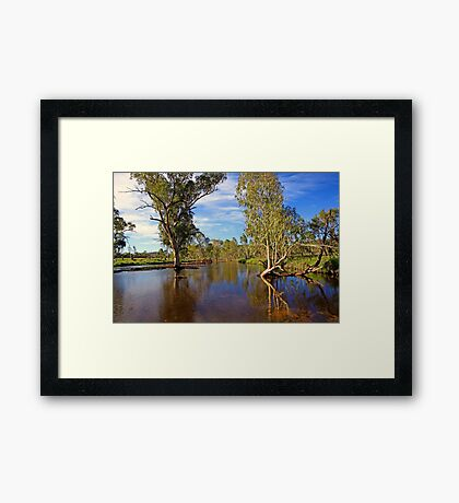 Simpson Reflections  Framed Print