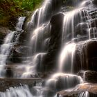 Sylvia Falls III - Blue Mountains NSW Australia by Brad Woodman