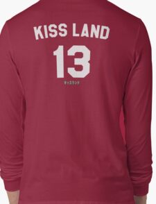 Kiss Land WHITE Long Sleeve T-Shirt