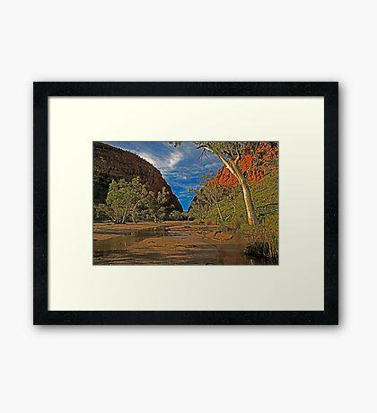 Simpson Gap Framed Print