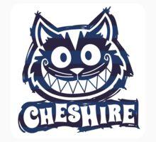Cheshire Originals - Blueberry Stripe Scribble Sticker by CheshireGoMad
