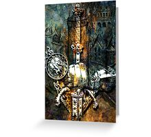 TALES OF CHIVALRY Greeting Card