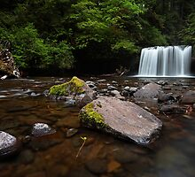 Upper Butte Creek Falls by Tula Top