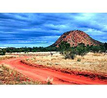 Road to Desert Storm Photographic Print